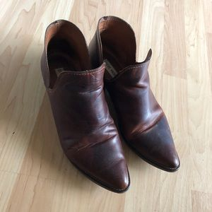 Steve Madden Austin Leather Booties